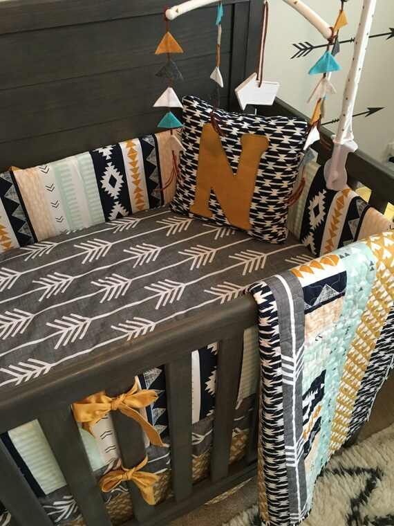 The Noah Collection Rustic Crib Bedding Baby Boy