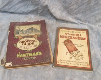 1920 Hartmans Chicago Shopping Guide for Millions 1913 Repro Kresge's Katalog