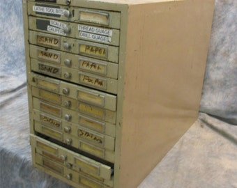 Vintage flat file cabinet etsy 13 drawer metal file cabinet flat file cabinet c flat file drawer desktop malvernweather Image collections