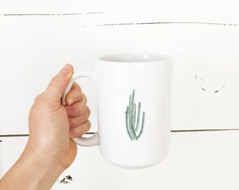 Cactus Coffee Mug - Cacti Mug - Cactus Coffee Mug - Mug - Cactus - Bison - Cacti - Coffee Cup - Southwestern Decor - southwestern kitchen