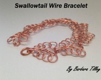 Tutorial Video Swallow Tail Bracelet