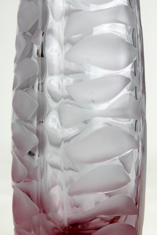 Vintage pink czech art glass vase from the 50s designed by vaclav vintage pink czech art glass vase from the 50s designed by vaclav horacek for sklarny reviewsmspy
