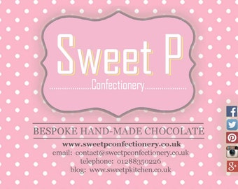 Chocolate Lolly, Sweet Lolly, Party Bag Presents, Party Favours, Gourmet Lolly,  Colourful Gift, British Chocolate, Cornish Food