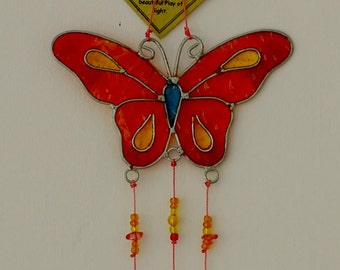 Suncatcher - Butterflies, multicolored