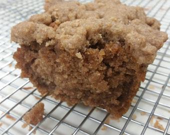 Gluten Free & Vegan Apple Cinnamon Crumb Bread