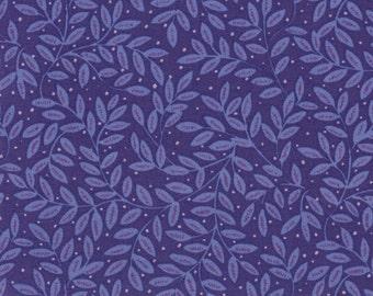Purple Ferns- 100% Cotton Quilting Fabric