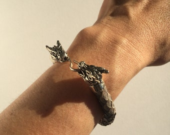 Dragon Python Bracelet, Available in Multi-Colors