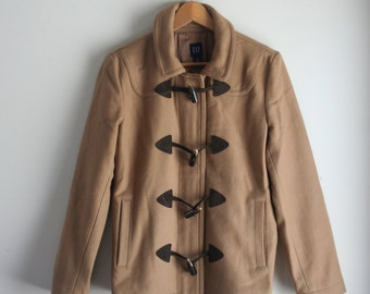 Vintage GAP Wool Pea Coat, Jacket, Duffle Coat - Vintage Fashion