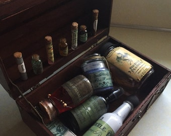 Harry Potter Inspired Decretive Small Potions Kit (Case Included)