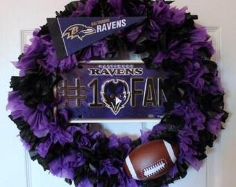 Baltimore Ravens Wreath, Ravens Wreath