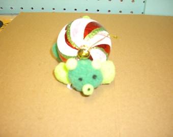 Handmade Teddy Bear Christmas Tree Ornament