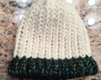 Baby Loom Knitted Hat