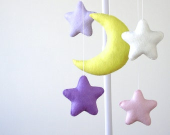 Baby Crib Mobile, Stars Baby Mobile,  Nursery Decor, Ready to Ship, Gift Packaging