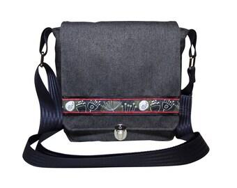 Shoulder bag Messenger bag Little Darling grey