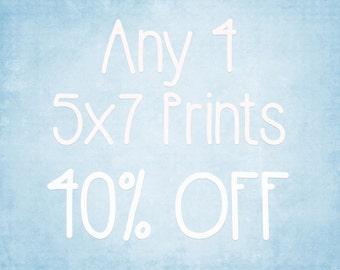 5x7 Prints - Choose any 4 ColorPopPhotoShop Fine Art Photographs