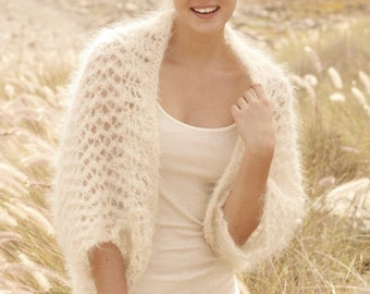 Women Handmade hand knit bolero / shrug / jacket - sizes S - M - L - XL - XXL - XXXL