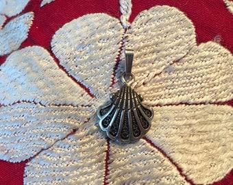 Vintage Pendant-Sterling Silver Pendant-Pendant-Handmade Vintage Pendant-Ethnic-Hippy-Gypsy-LV29