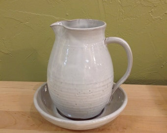 Large maple syrup pitcher