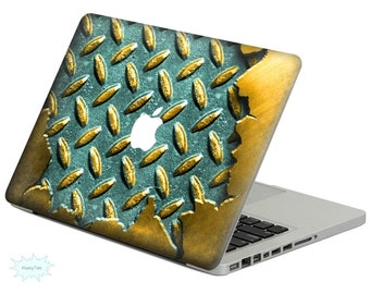 Metal Stripes Decal Mac Stickers Macbook Decal Macbook Stickers Apple Decal Mac Decal Stickers