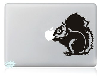 Squirrel Decals Mac Stickers Macbook Decals Macbook Stickers Apple Decal Mac Decal Stickers Laptop Decal