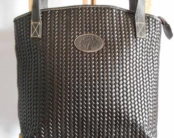MULBERRY Bag, Shoulder Bag, Handbag, Dark Brown Bag, Genuine Leather, Vintage Bag
