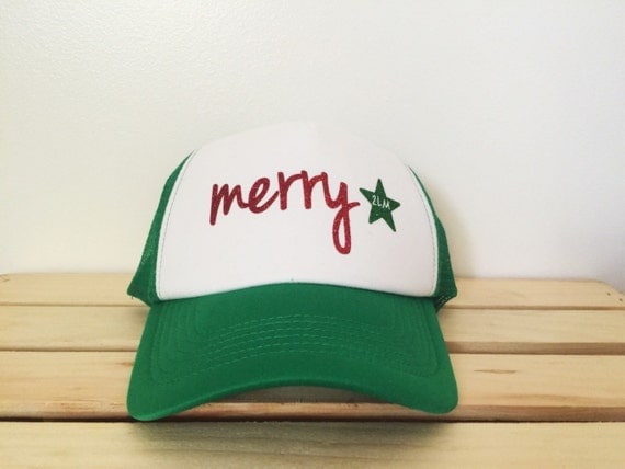 "Custom ""Merry"" Trucker Hat- 2 Legged Mermaid"