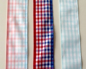 "Offray 1-1/2"" Gingham Ribbon"