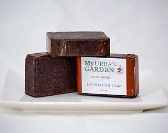 Coffee Soap - Chocolate Soap - Mocha Soap - Espresso Soap - Chocolate Coffee Soap - Vegan Coffee Soap - Vegan Chocolate Soap - Kitchen Soap