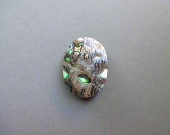 Abalone Shell oval cabochon 28x20 mm