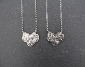 Fallen Leaf Necklace (Sterling Silver)