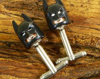 Wedding Cufflinks For Him - Batman Cufflinks - Superhero Cuff Links-  Cufflinks For Men - Wedding Day Gift - Gift For Him