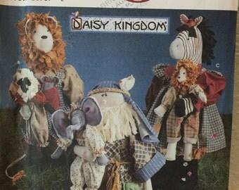 Daisy Kingdom Zebra, Lion, Noah, Lamb and Elephant pattern
