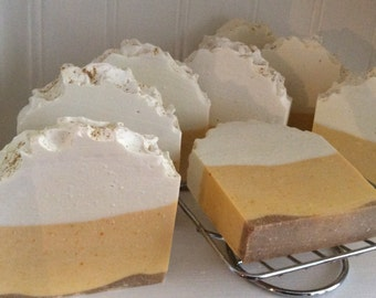 CITRUS MANGO SOAP.... With Calendula and Dandelion Root....Refreshing Citrus Fragrance