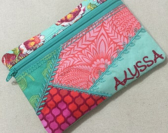 Crazy Patch Work Pouch