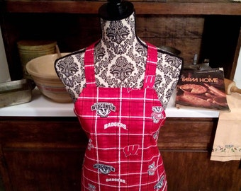 University of Wisconsin /Badgers Sports Apron