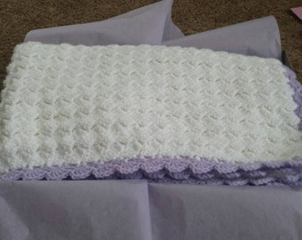 Special Baby Blanket Hand Crocheted
