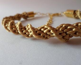 Molten Gold Bracelet
