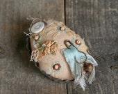 Vintage Style Pincushion, Tart Tin Pincushion.