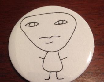 Creature Gerald Pinback Button