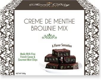 Gourmet Dessert Mix - Creme deMenthe Brownie Mix