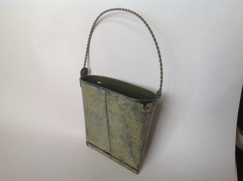 Vintage Tin Wall Pocket Door Or Wall Metal By Homagetojackvintage