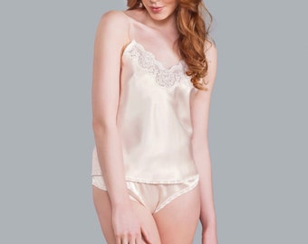 Julia Silk Camisole - Demure Collection