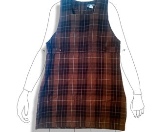 School girl plaid uniform dress!