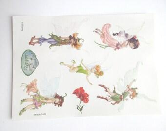 Disney Fairy Tattoo - Tinkerbell Tattoo // Fairy Birthday - 1 Sheet - 7 Tattos