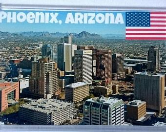 Phoenix, Arizona Jumbo Fridge Magnet