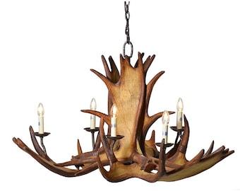 Moose Horn Chandelier