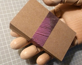 paper kraft cards chipboard cards blank business cards 50 biz cards diy business cards business supplies do it yourself cards kraft cards