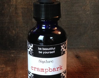 Cramp bark tincture, PMS and period pain fighter