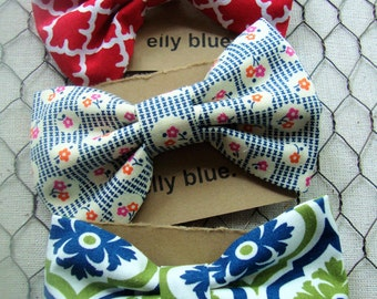 Little boy bow ties. Toddler bow ties. Clip on bow ties.