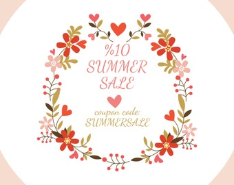 SUMMER SALE,  Discount coupon code: SUMMERSALE